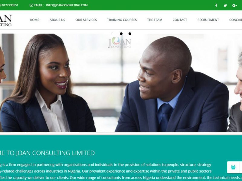 Joan Consulting Ltd. – Lagos