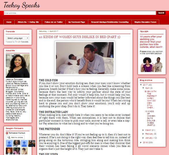 Teekay Speaks – Lagos