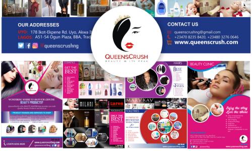 Full Branding - QueensCrush Ltd. - Uyo