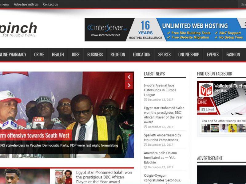 Afripinch News Portal – Lagos