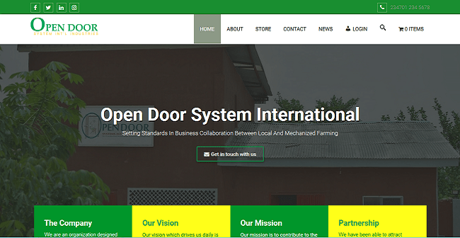 Open Door System Int'l