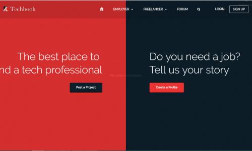 Techbook - Tech Freelance & Jobs Portal