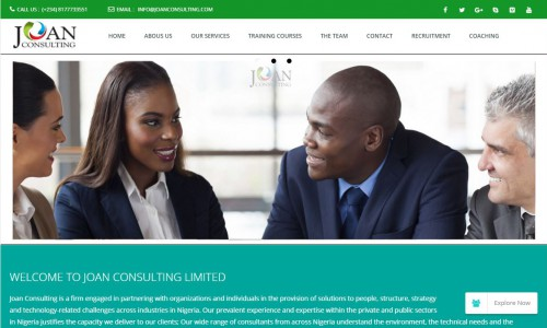 Joan Consulting Ltd. - Lagos