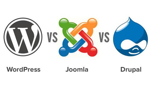 WordPress vs Joomla vs Drupal – who wins?