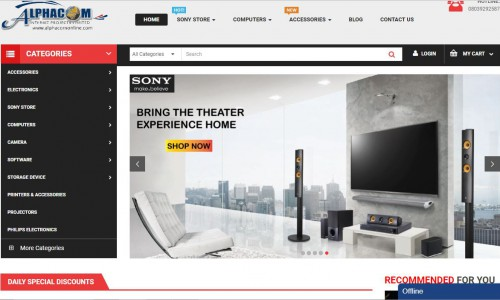 Alphacom Online Store - Lagos
