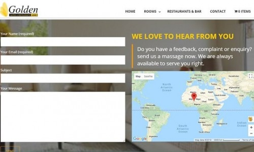 Golden Suites & Restaurants - Lagos