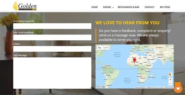 Golden Suites & Restaurants – Lagos