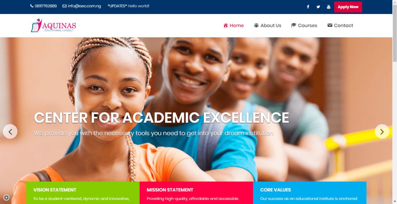 Aquinas Educational Consult – Lagos