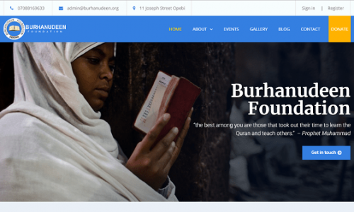 Burhanudeen Islamic Foundation - Kogi