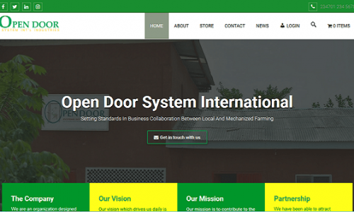 Open Door System International Industries Limited
