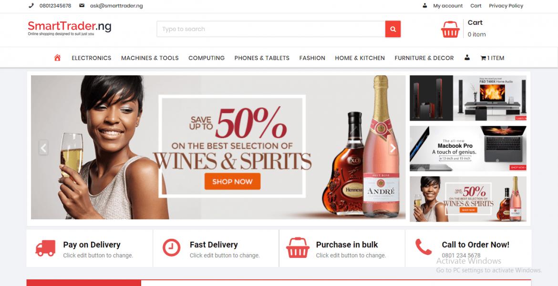 SmartTrader.ng   Online Shopping Redefined