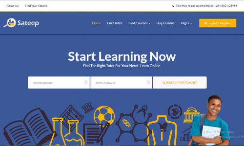 Online Video Tutoring System | Sateep.com