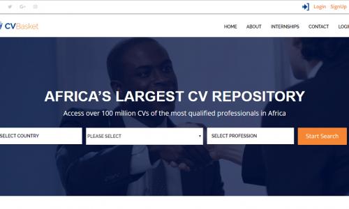 CV Basket | Africa's Largest CV Repository
