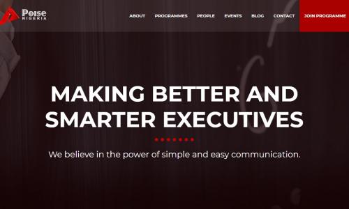 NEW Poise Nigeria Website