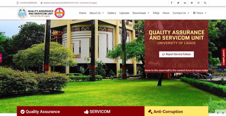 Quality Assurance and SERVICOM Unit | UNILAG