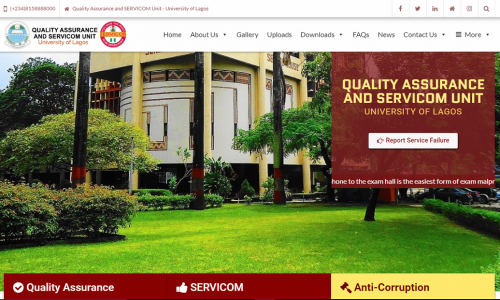 Quality Assurance and SERVICOM Unit | UNILAG