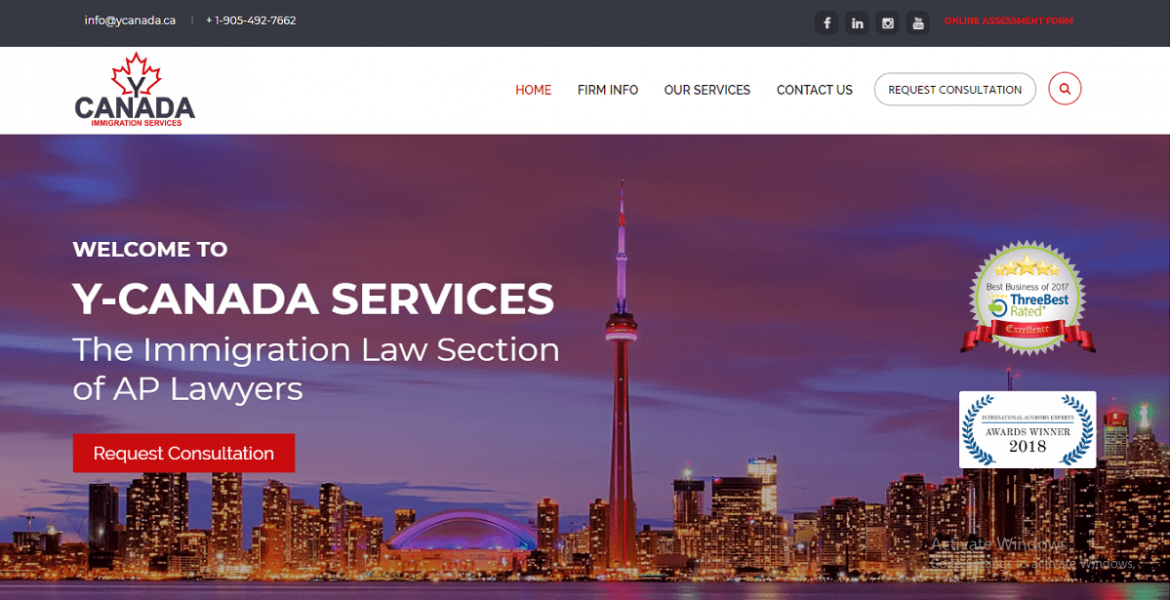 Y-Canada – Immigration Law Firm in Toronto